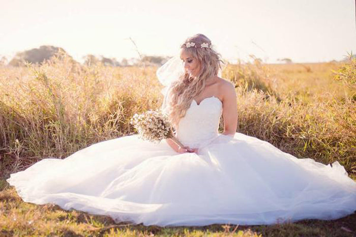 Fairy Tale Lace Ball Gown