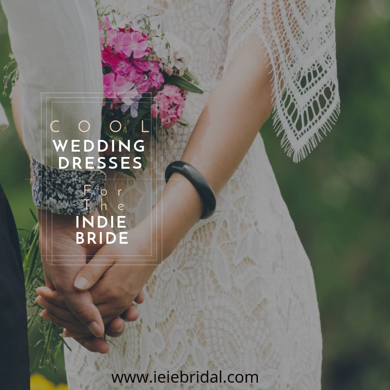 Cool Wedding Dresses for the Indie Bride