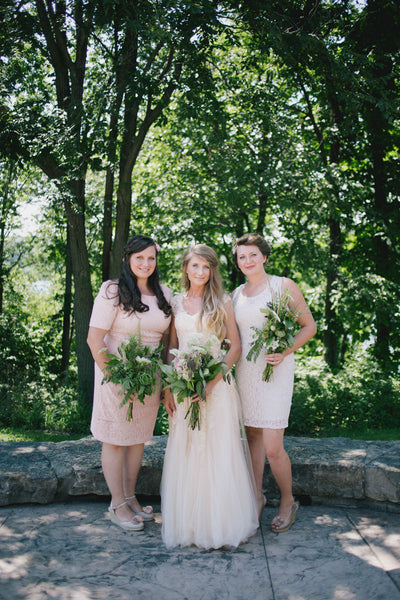Korynne and Bridesmaids