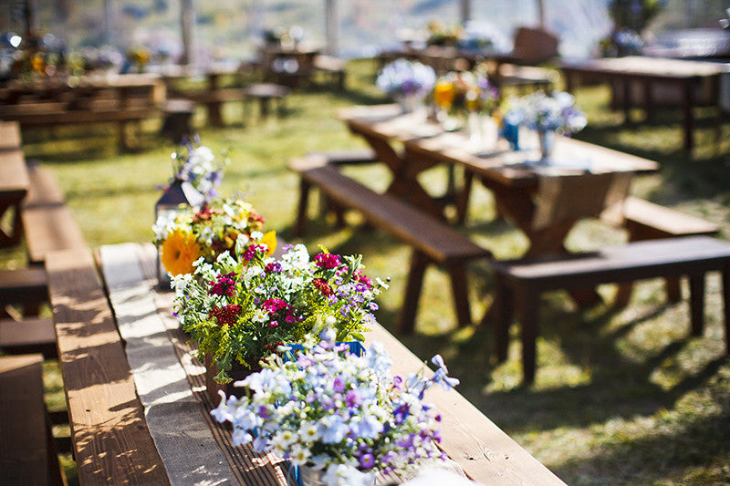Laid-back Wedding Tablescape