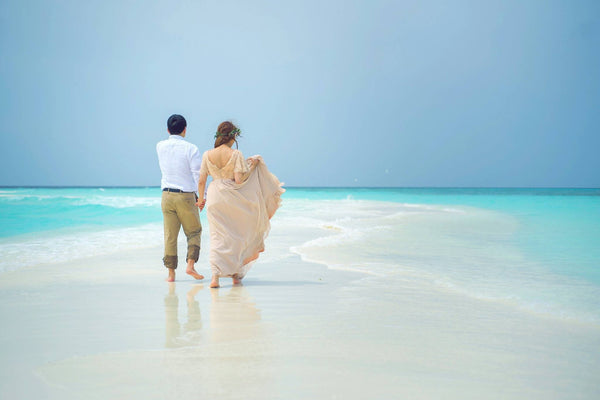 Maldives Destination Vow Renewal Dress