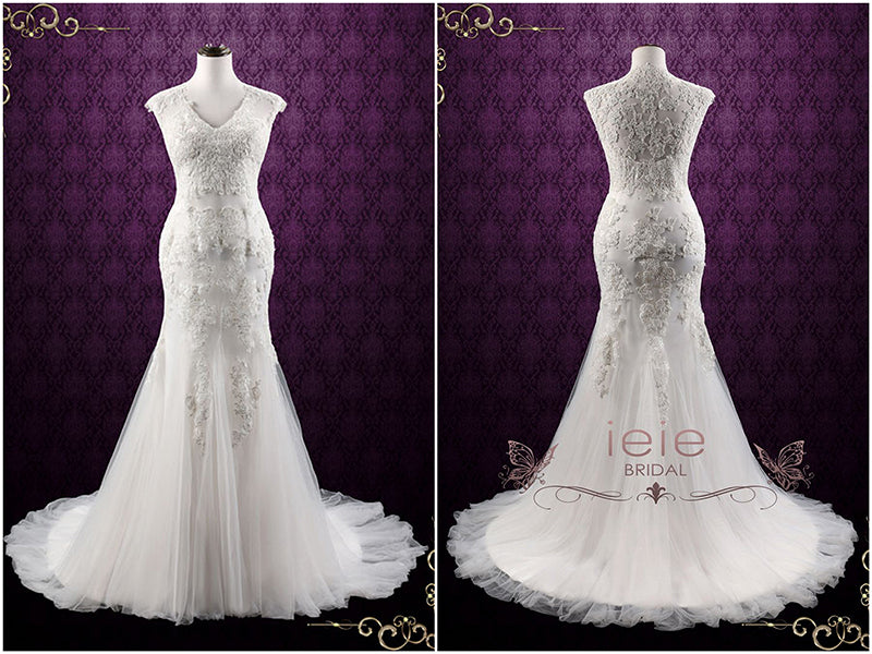 Contemporary Romantic Wedding Dress