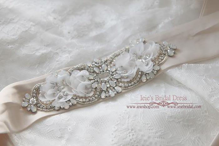 Moonstone Bridal Sash