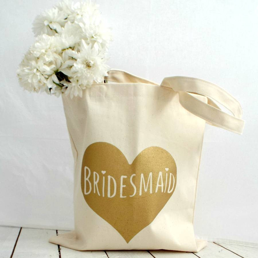 Bridesmaid Gift Tote Bag