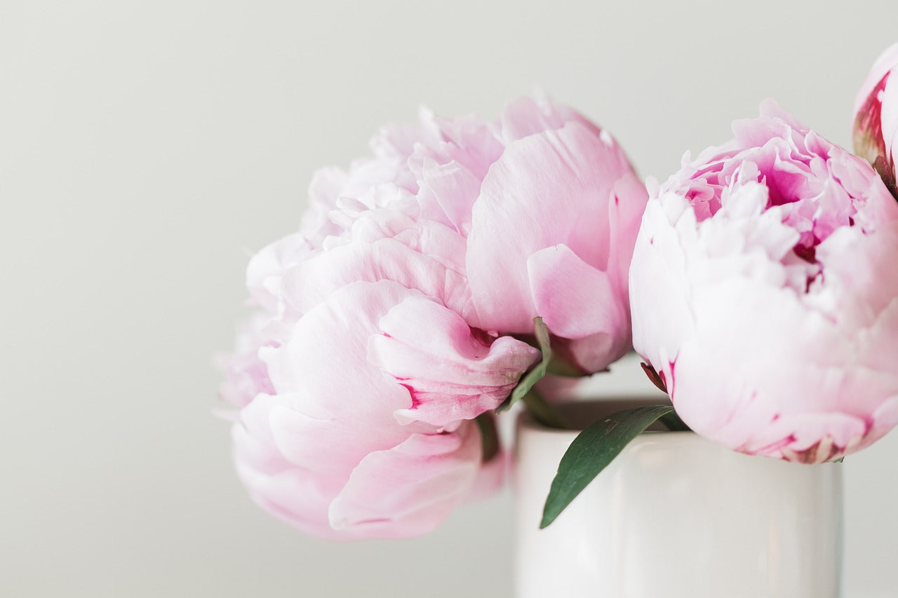 Ballet-inspired Wedding Peony Bouquet