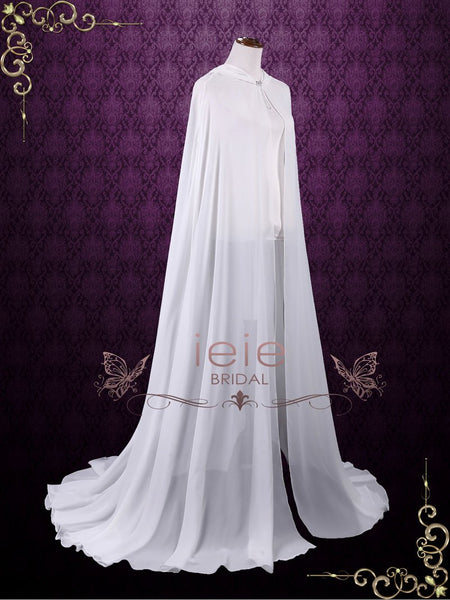 Chiffon Princess Cape