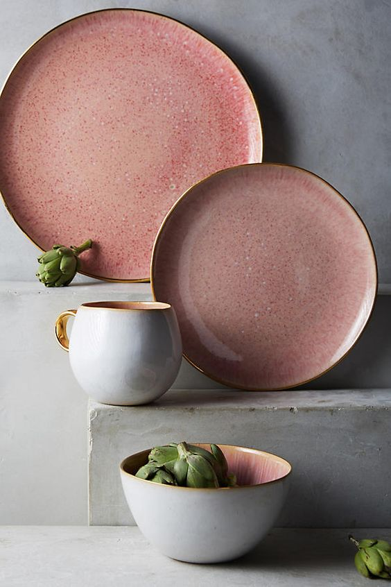 anthropologie stoneware plates