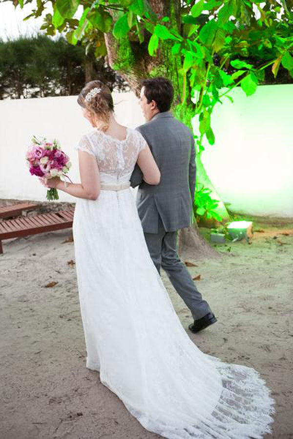 Ana's Beach Wedding in Brazil