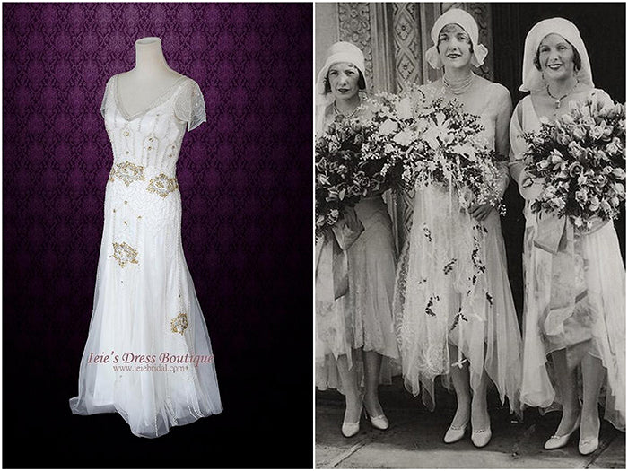 Vintage Wedding Dresses Inspiration Throughout The