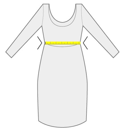 Measuring Waist for a Dress