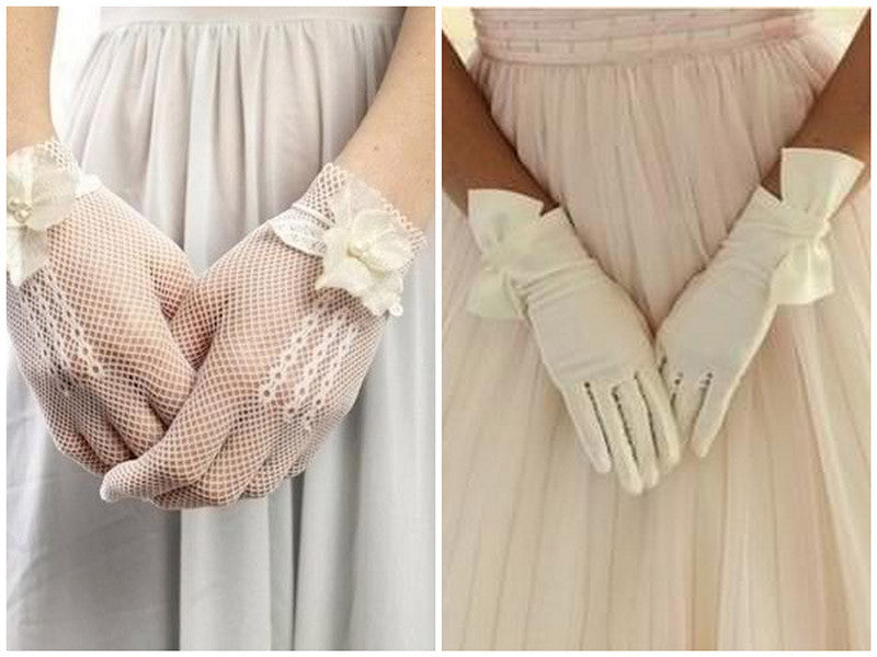 Wedding Gloves for Bride