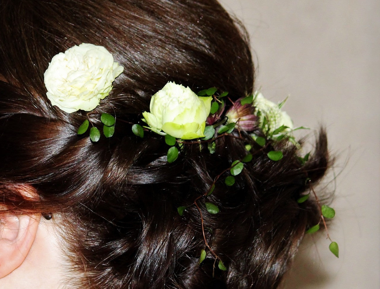 Statement Hair Pieces for the Bride and Bridesmaids