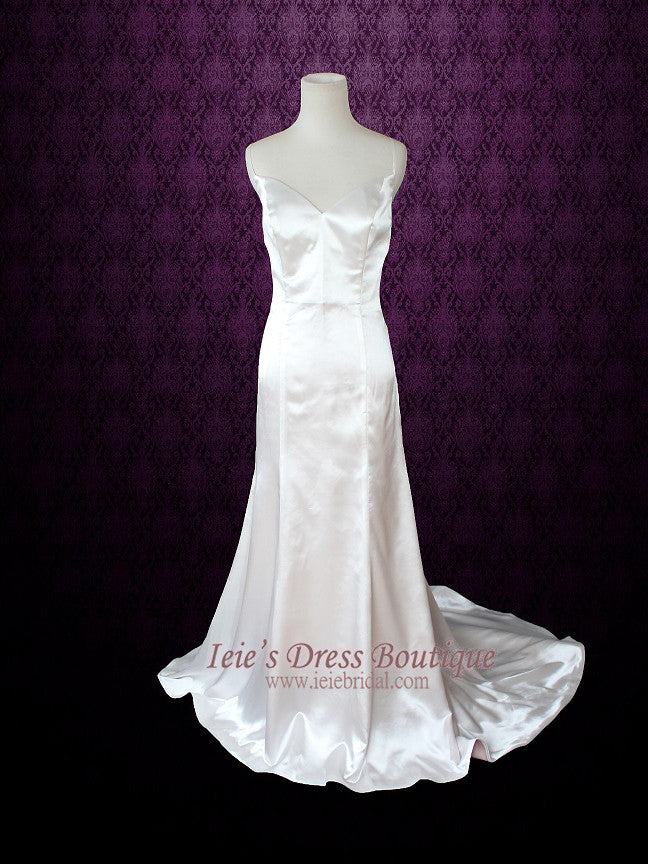2 Piece Vintage Style Floral Lace Wedding Dress GRISELLE