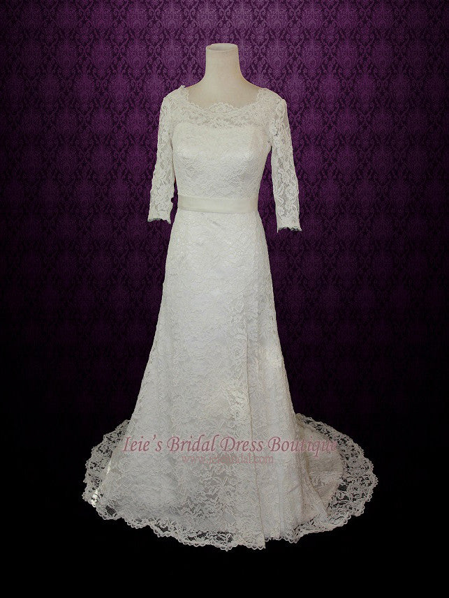 Vintage Wedding Dress 1960s