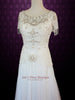Ready to Ship Size 0 Jeweled Retro Hollywood Wedding Dress Vintage Wedding Dress | Danielle