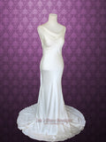 Vintage Wedding Dress with Cowl Neck RITA