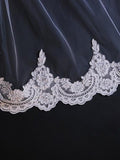 Chapel Length Lace Mantilla Wedding Bridal Veil 90''
