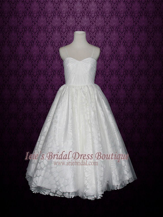 Petite Size Ball Gown Wedding Dress with Thin Straps   Hannah – ieie