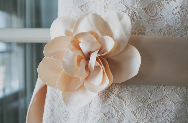 Flower on Chelsea's Dress
