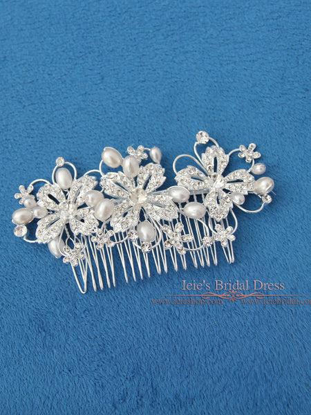 Bridal Comb, Wedding Comb, Crystal Hair Comb | VG1035