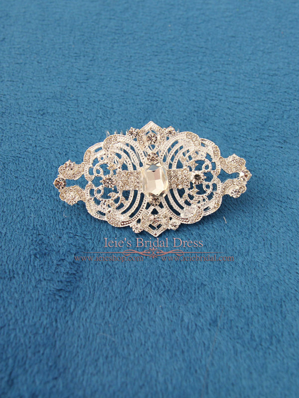 Crystal Rhinestone Bridal Comb, Wedding Comb, Crystal Hair Comb | VG1037