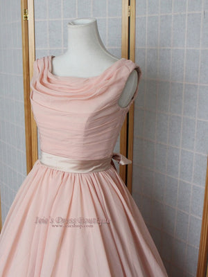 Ready to Wear 50s Chiffon Prom Dress