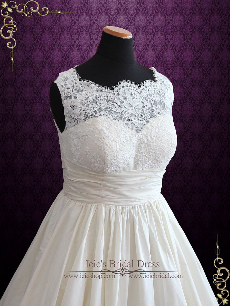 Floral Lace Ball Gown Floral Lace Wedding Dress | Allie