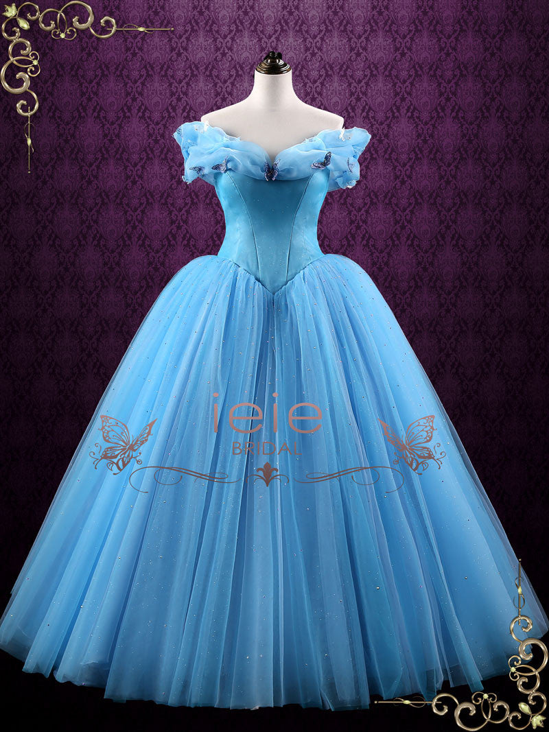 Cinderella Blue Ball Gown Evening Dress | Cinderella – ieie