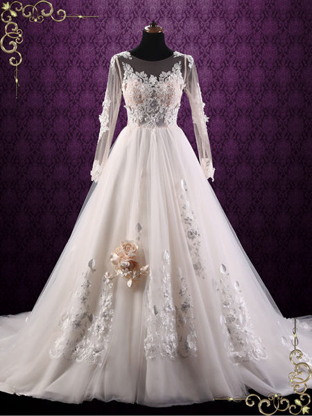 Long Sleeve Lace Wedding Dress | Layla