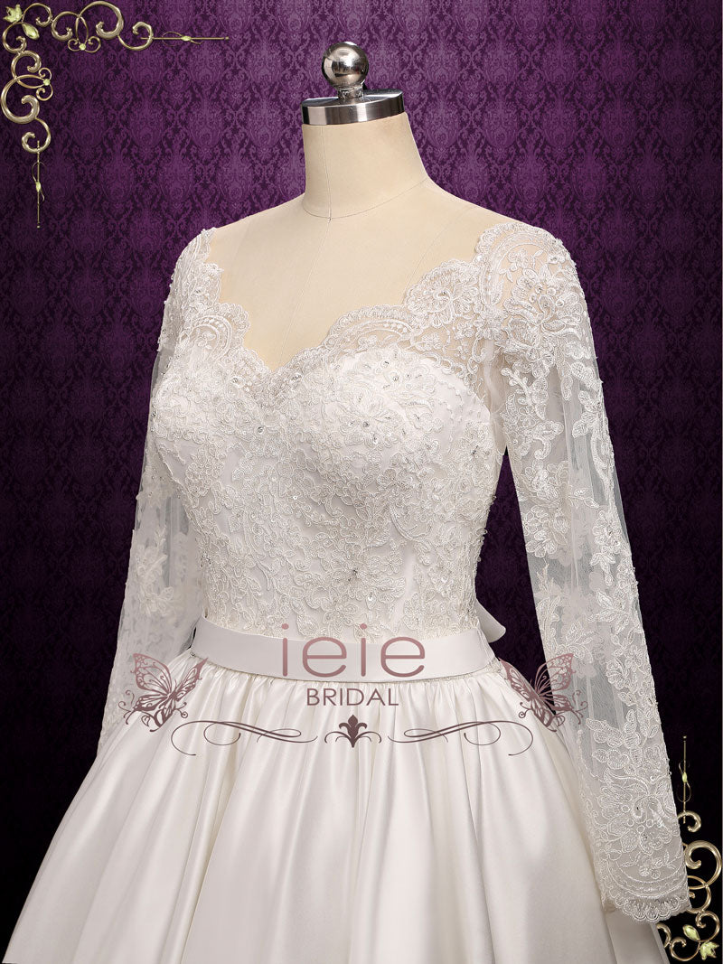 Wedding Dresses & Veils: Vintage Lace, Modest, Tea Length, Boho, Beach