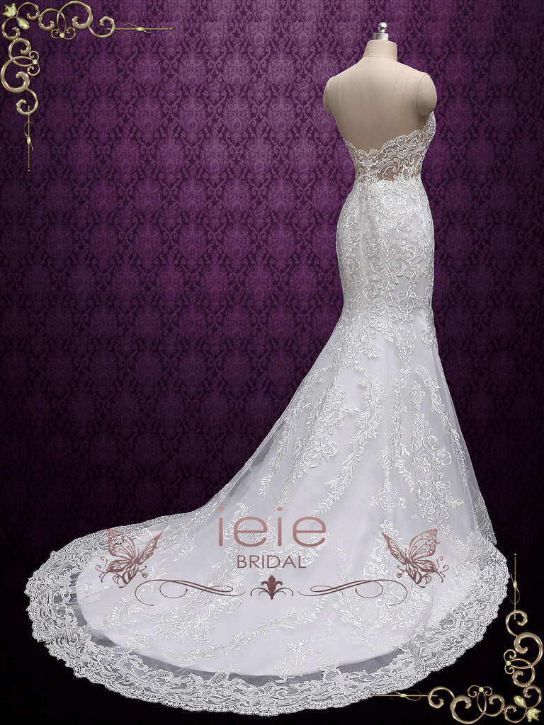 Exquisite Lace Mermaid Wedding Dress ABELLA