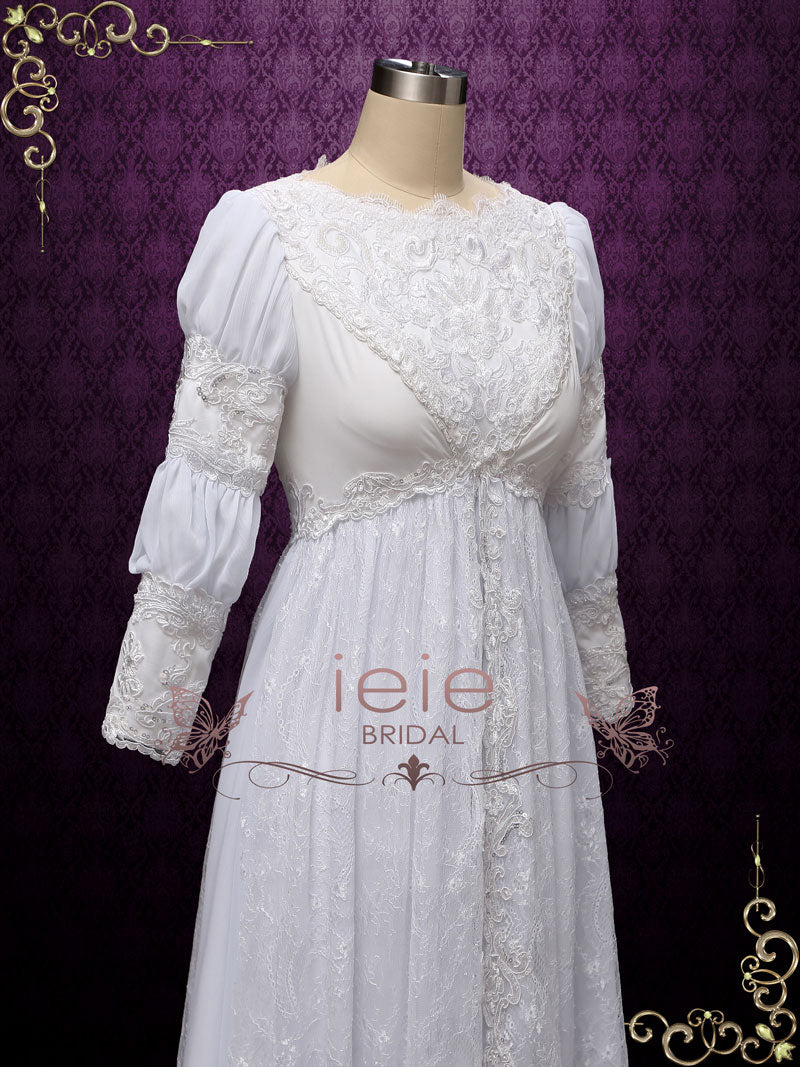 Ever After Movie Inspired Vintage Medieval Wedding Dress | Agace