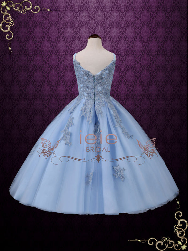 Blue Princess Birthday Dress | Sealie