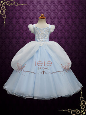 Girl Cinderella Ball Gown for Birthdays Parties and Special Occasion