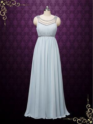 Grecian Goddess Bridesmaid Dress