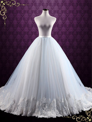 Ball Gown Lace Wedding Skirt | Chelse
