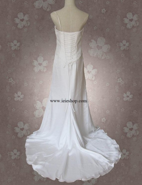 Simple Stylish Romantic Wedding Gown