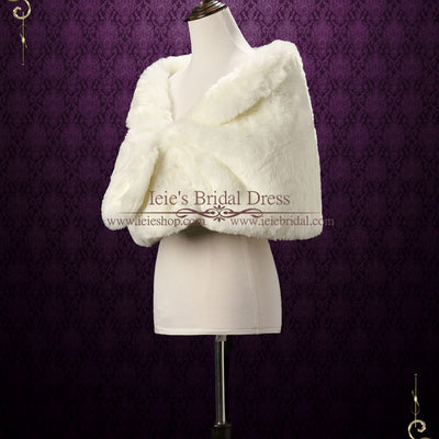 Winter Wedding Faux Fur Wrap