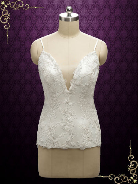Lace Corset Top for Wedding Drress | Arua
