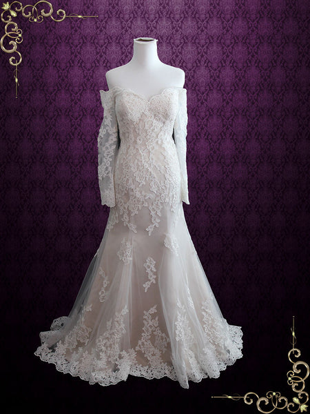 Vintage Inspired Sexy Wedding Dress
