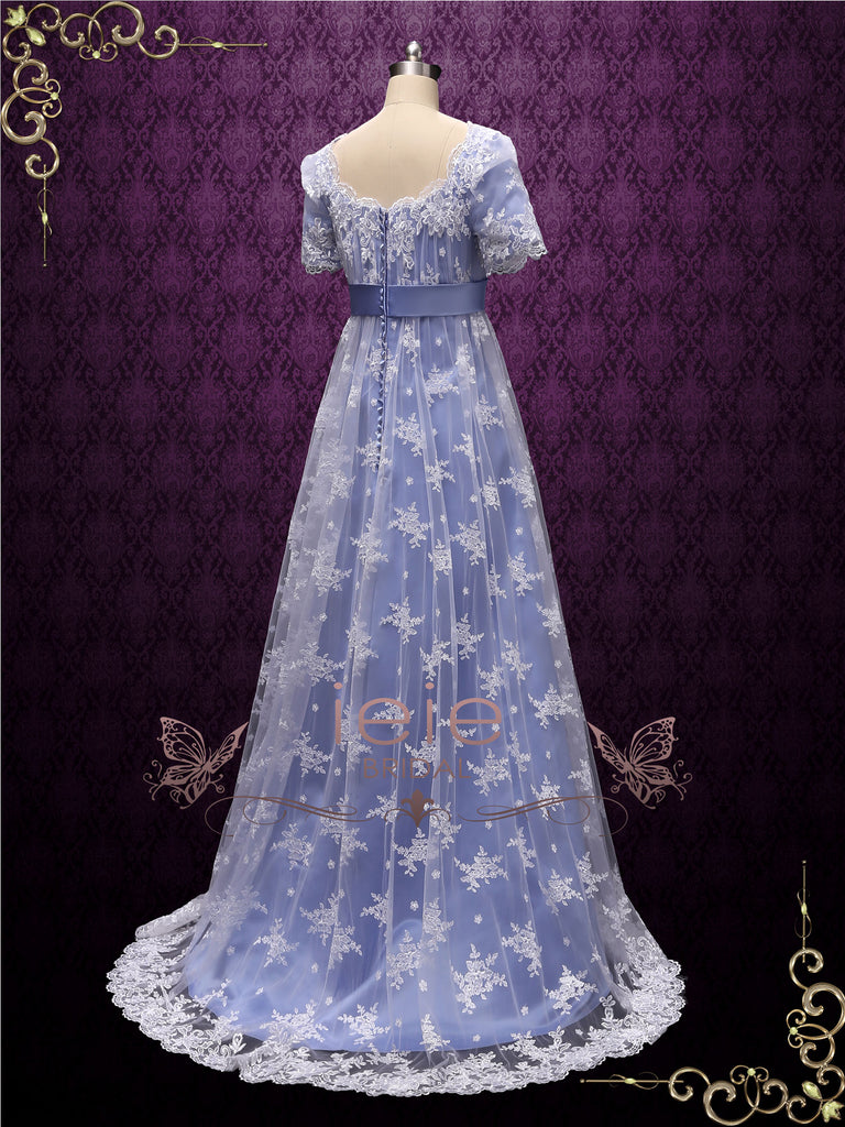 Regency Style Princess Formal Prom Evening Ball Gown | HELENA