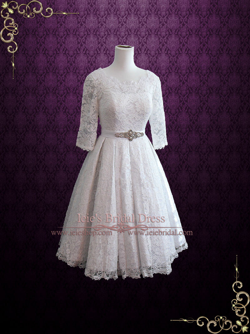 Vintage Wedding Dress 1950s