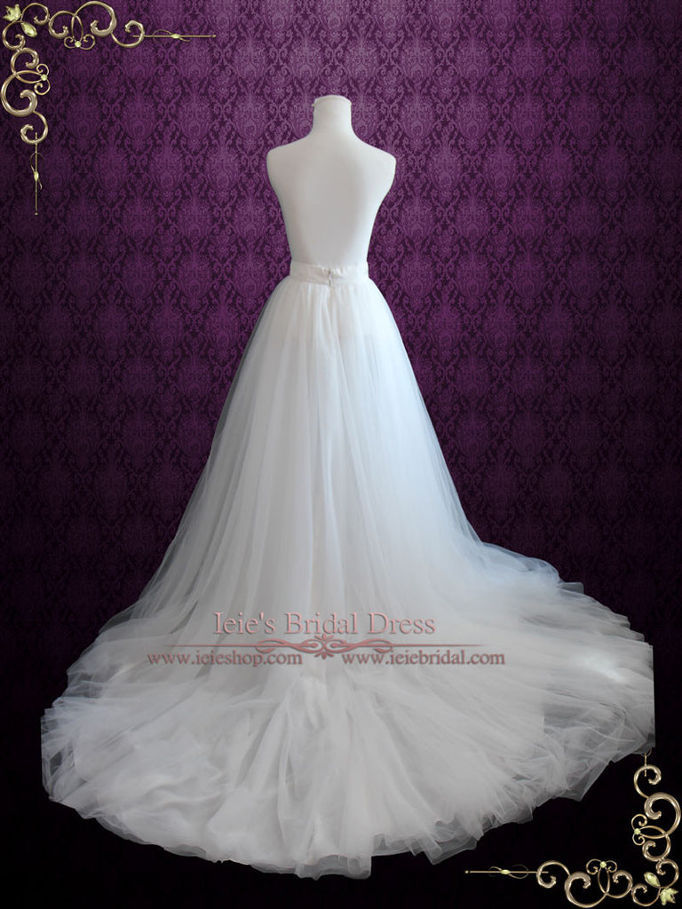 Soft Tulle Wedding Dress Skirt | Aria