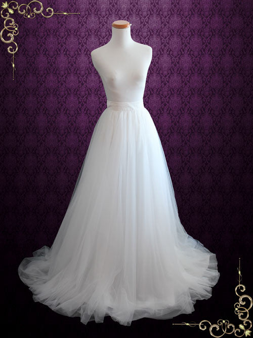 Wedding Dress Soft Tulle Skirt | Aria – ieie