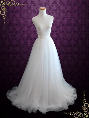 Wedding Dress Soft Tulle Skirt | Aria