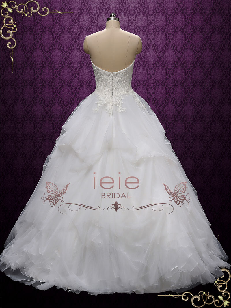 Strapless Ball Gown Wedding Dress | Erina – ieie
