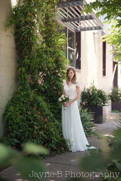 Jennifer's Garden Wedding