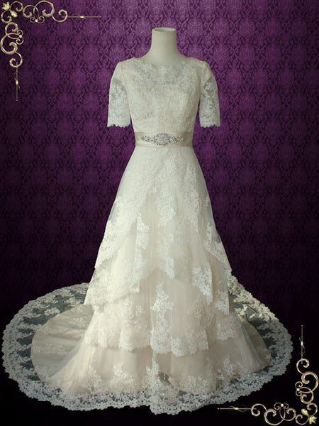 vintage wedding fress