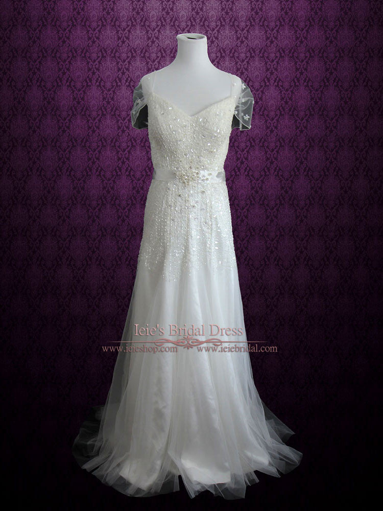 Vintage Ethreal Willow Style Wedding Dress | Chrissy