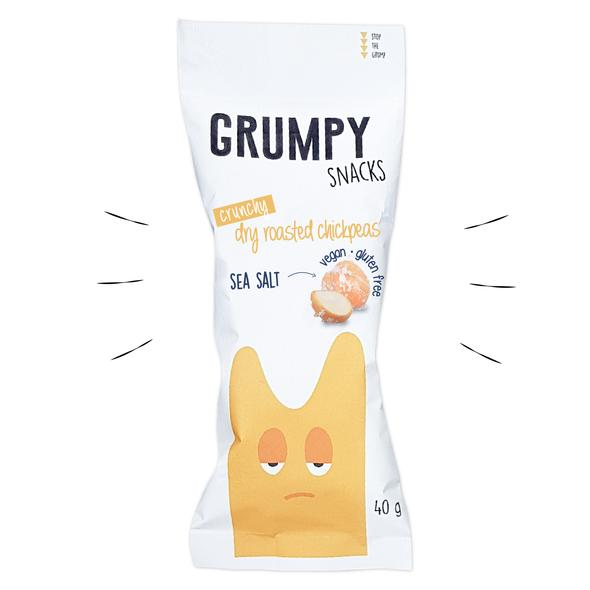 Grumpy Snacks | Sea Salt Chickpeas